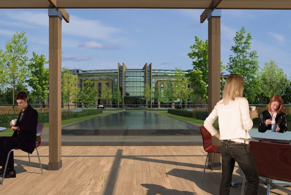 Landscape architecture London hotel and conference near heathrow